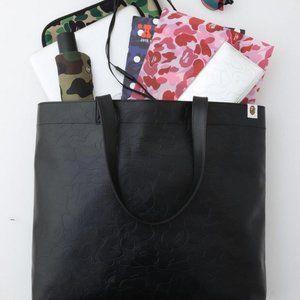 Bape Leather Tote bag